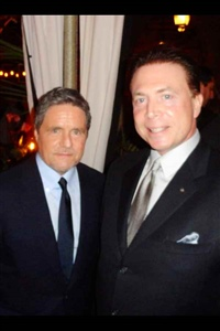 Frank Mottek with Brad Grey Chairman and CEO of Paramount Pictures 2014