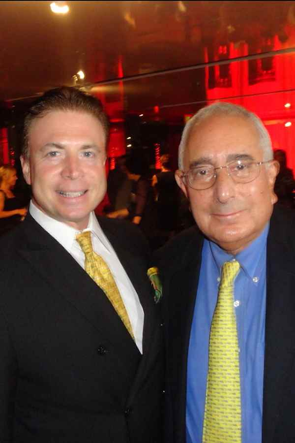 Frank Mottek with economist actor author commentator Ben Stein 2013