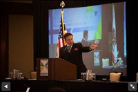 Frank Mottek moderates SCAG Economic/Summit, 2013